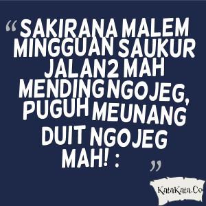 Kata Kata Malam Minggu Bahasa Sunda