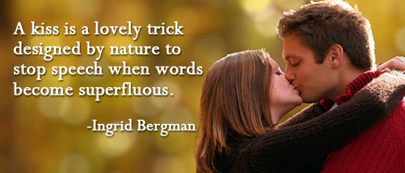Kissing Quotes Pictures