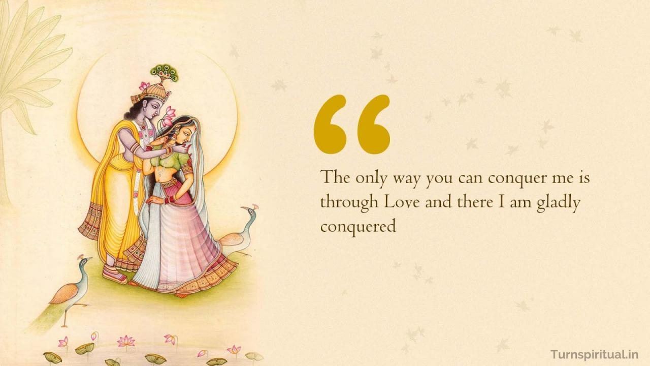 Krishna Love Quotes