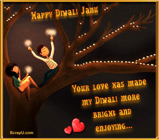 Happy Diwali My Love Comments