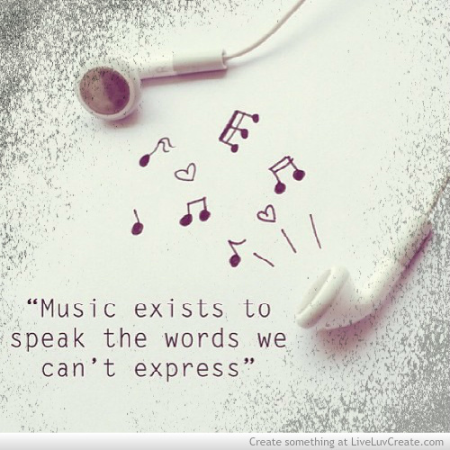 Music Quote And Words Image