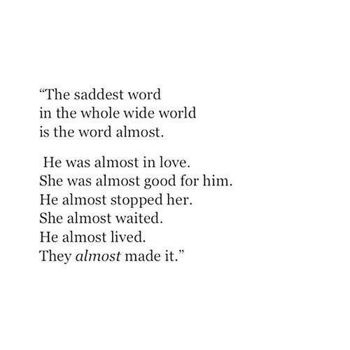 Almost Sad And Quotes Image