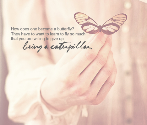 Quote Butterfly And Life Image