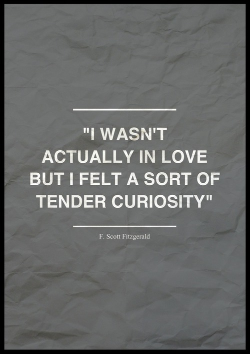 Quote F Scott Fitzgerald And Love Image