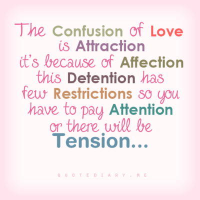 Affection Attraction And Confusion Image
