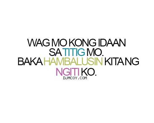 Tagalog Quotes And Tagalog Love Quotes Image