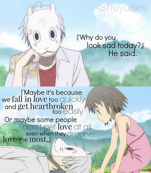 Anime Quotes And Love Image
