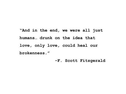 Quotes Love And Broken Image