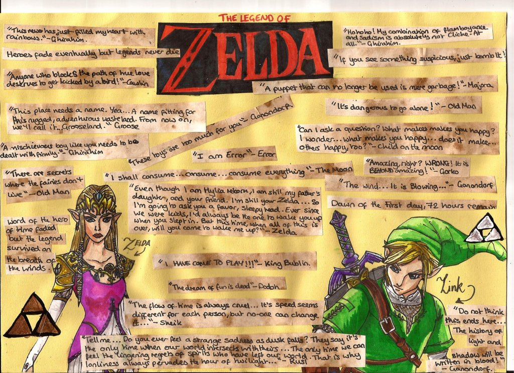 Legend Of Zelda Quote Page By Togofla