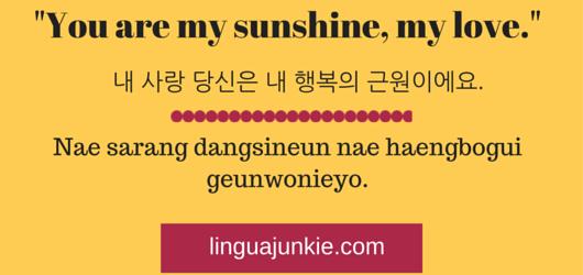 Korean Love Phrases