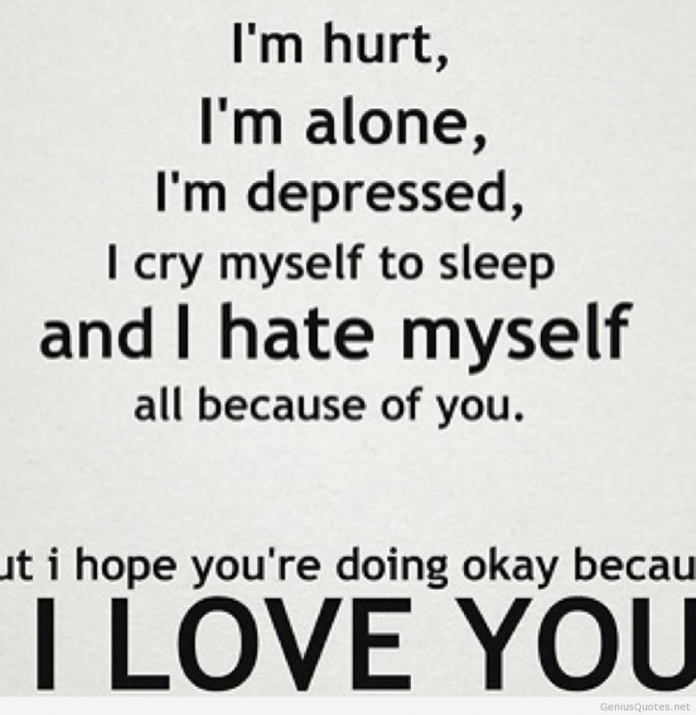 Quotes On Lonely Love Hover Me