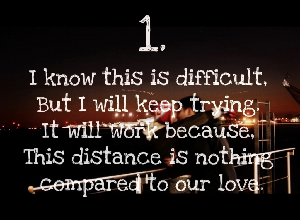Long Distance Love Quotes Long Distance Love Quotes For Him Quotesgram