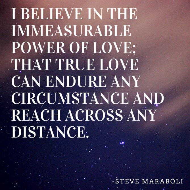 Long Distance Relationship Quotes About Believing