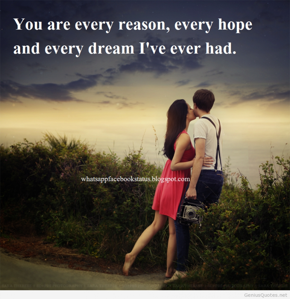 Love Couple Images With Quotes For Him You Are My Everything Love Quotes For Himher Whatsapp