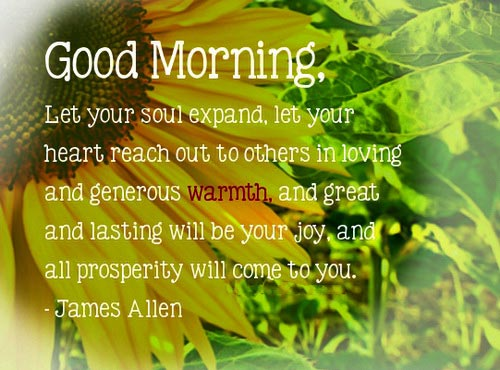 Love Inspirational Good Morning Quotes Let Your Soul