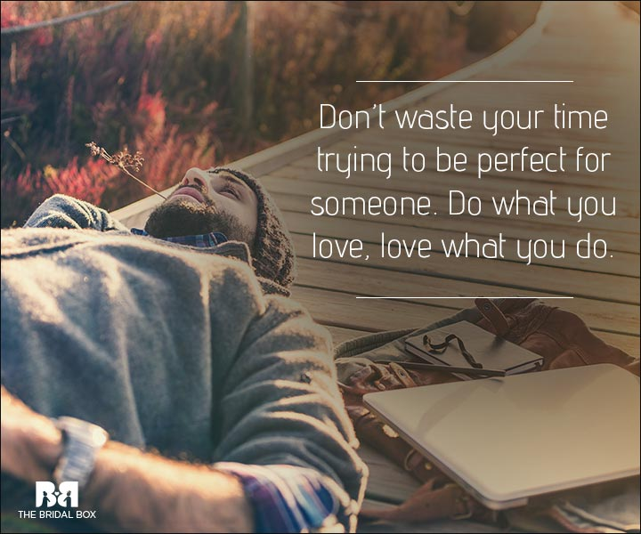 Love Is Waste Of Time Quotes Do What You Love
