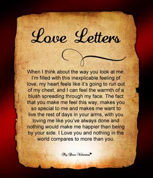 Love Letter For Him Love Letter To Him
