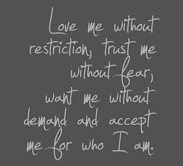 Love Without Restriction