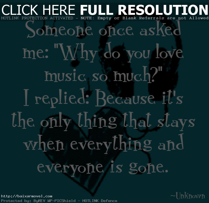 Love Music Quotes Unique Love Music The Daily Quotes