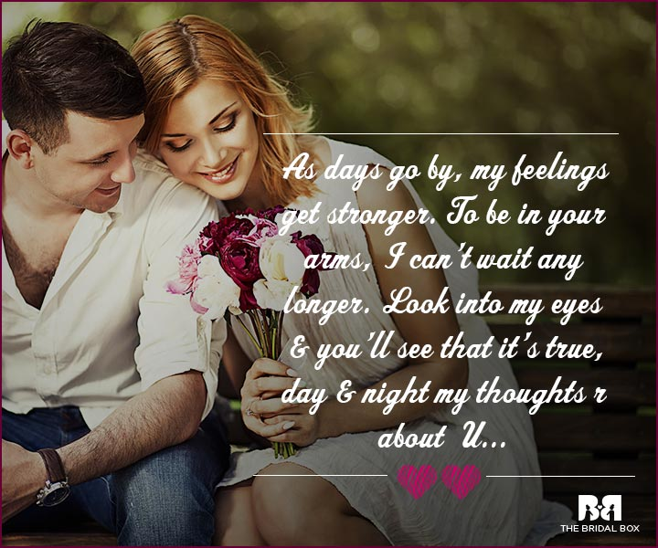 Love Proposal Quotes Stronger