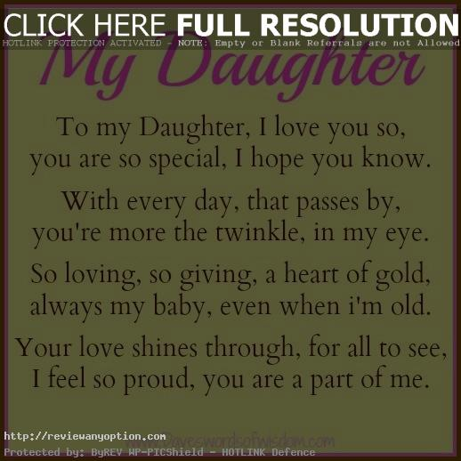 Love Quotes Daughter Adorable I Love My Daughters Quotes And Sayings  Quotesta
