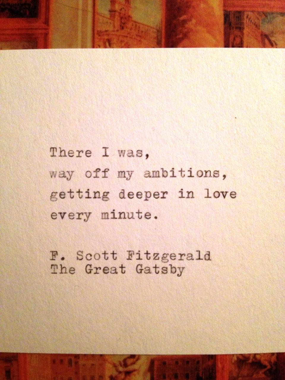 P Os Of The Love Quotes From The Great Gatsby