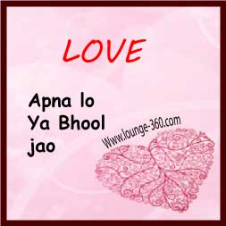 Beautiful Quotes In Urdu On Love Pa Lo Ya Bhool Jao
