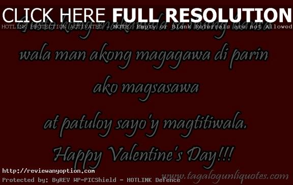 Love Quotes On Valentines Day For Her New Valentine Love Quotes For Him Tagalog Dobre For