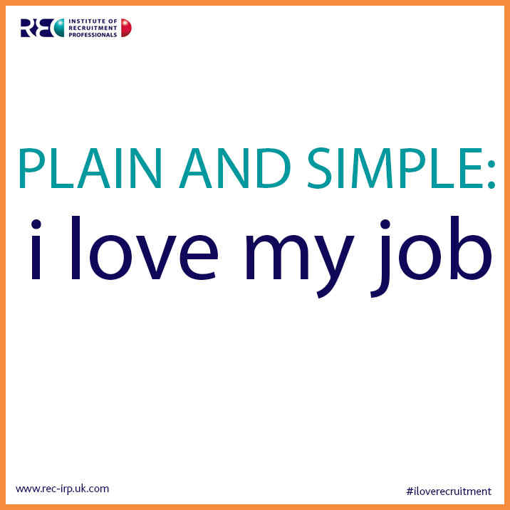Love Your Job Quotes Irp Quote Plain And Simple I Love My Job Jpg