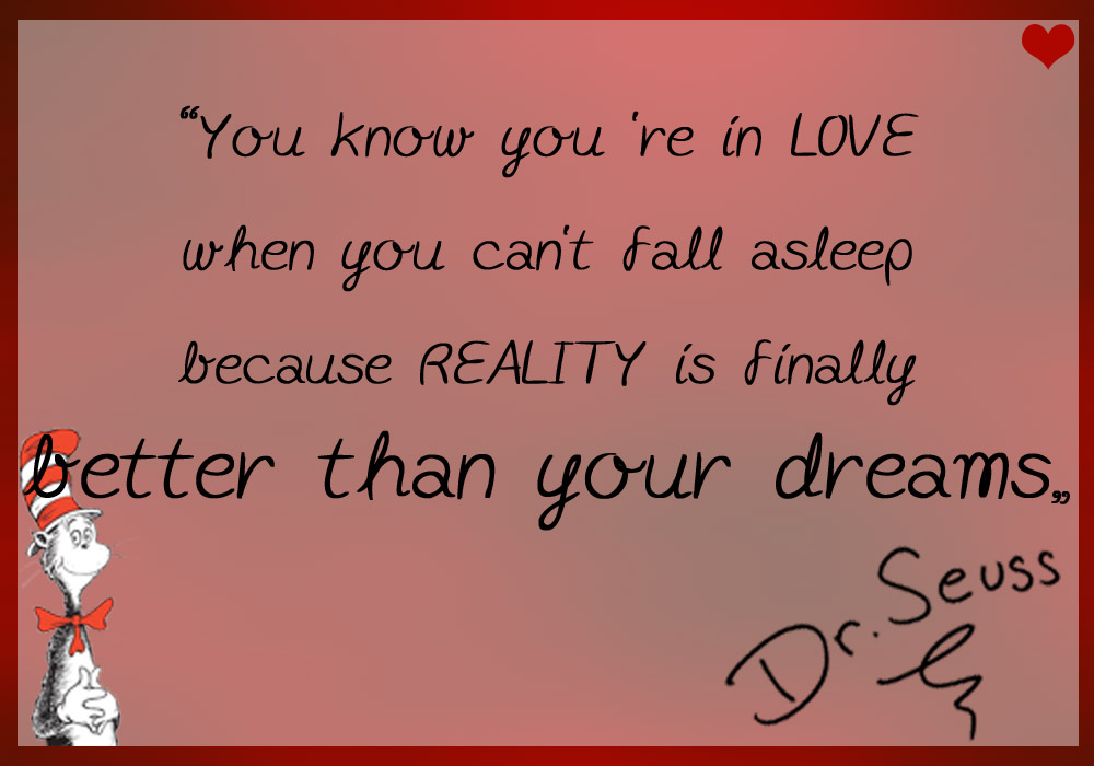 Dr Seuss Quotes Love Dream Http Www Tiertafel Nms De Blog  Dr Seuss