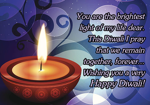 Diwali Love Greeting Cards For Lovers And Friends