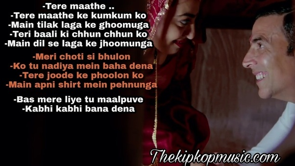 Aaj Se Teri Padman Mp Song Listen Online With Lyrics Quotes Reaction Arijit Singh Thekipkopmusic