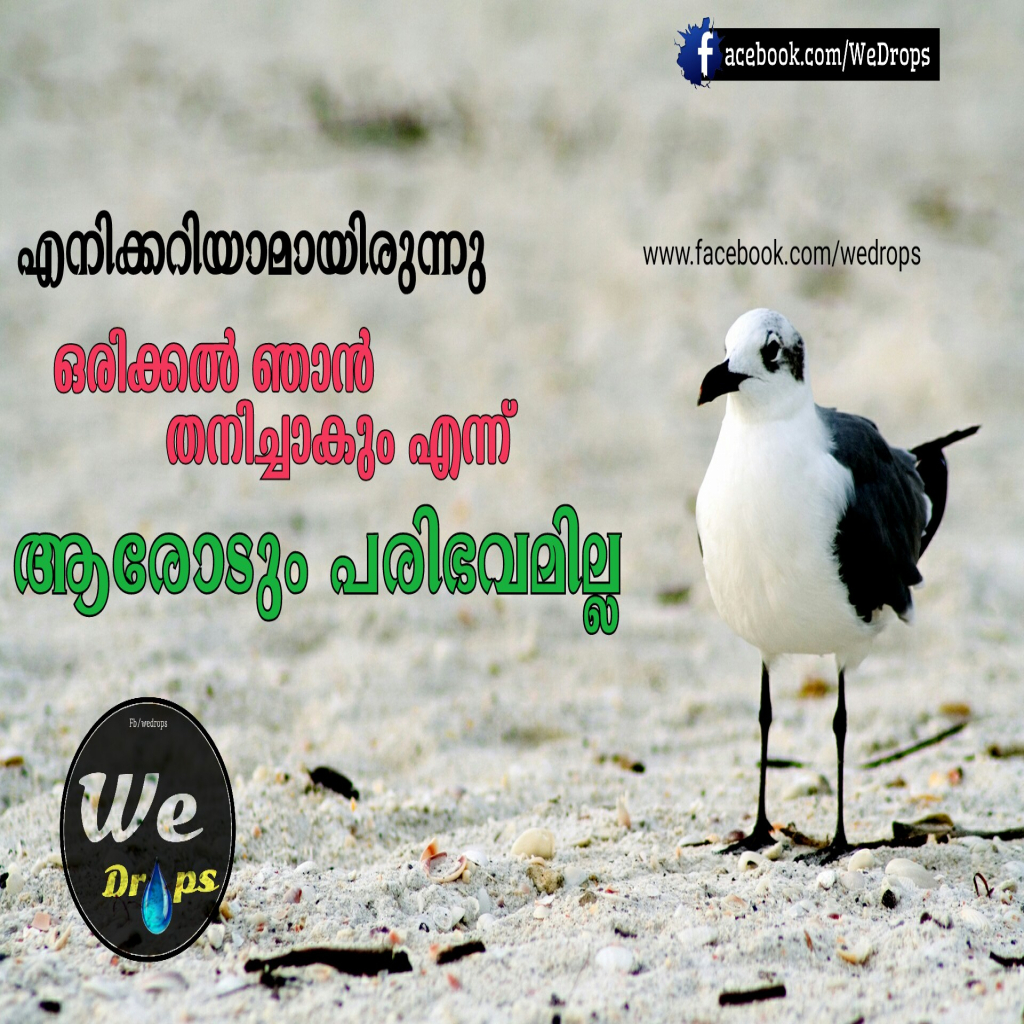 Malayalam S S Malayalam Quotes Malayalam Greetings Status Sms Regarding Malayalam Sad Love Quotes