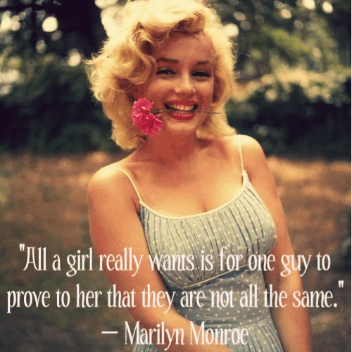 Marilyn Monroe Beauty Quotes Sayings
