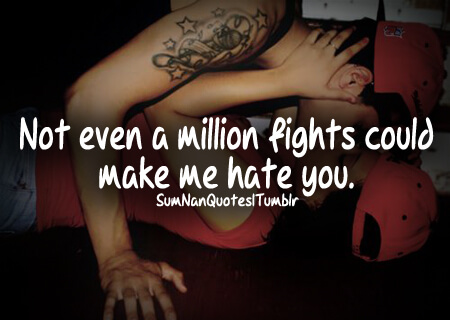 Married Couples Fighting Quote