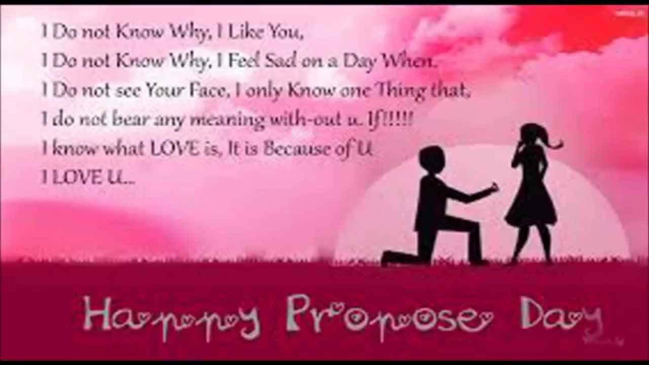 Sweet Cute Messages Greetings And Wishes For Propose Day You