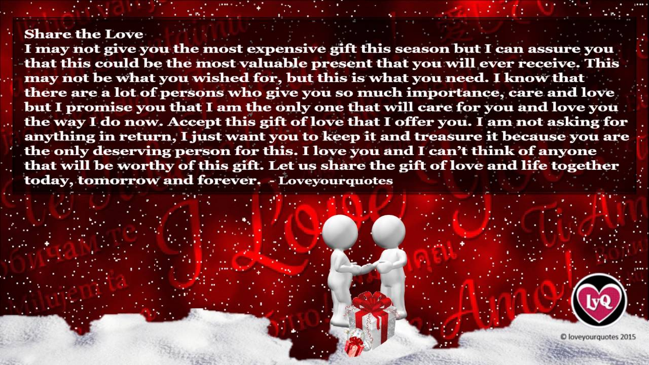 Cute Love Quotes For Him For Christmas Hover Me