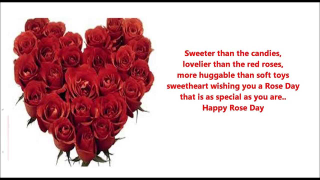 Happy Rose Day Love Messages Wishes Quotes Greetings Sms You Hover Me