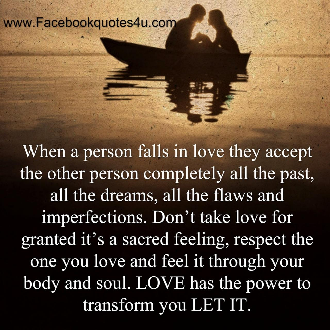 Mesmerizing Quotes When A Person Falls In Love Respect Your Wife Quotes