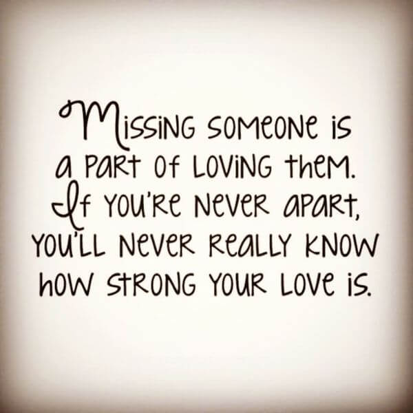 Miss You Love Quote Miss My Boyfriend Quote