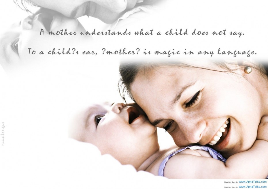Image Gallery Of Baby Love Quote Mom And Child Love Quotes Image