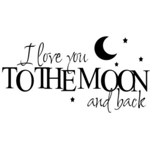 Moon Back Black And White Love Quotes Sun Stars Sensational Sayings Creatives Artisan Famous Artistic Simple