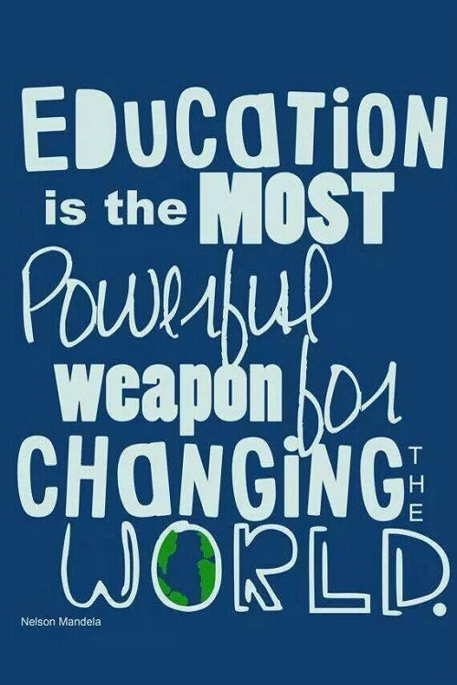 Most Powerful Weapon Graduation Quotes