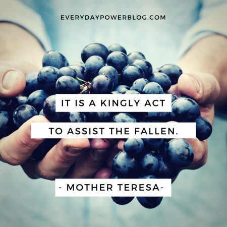 Mother Teresa Quotes About Service