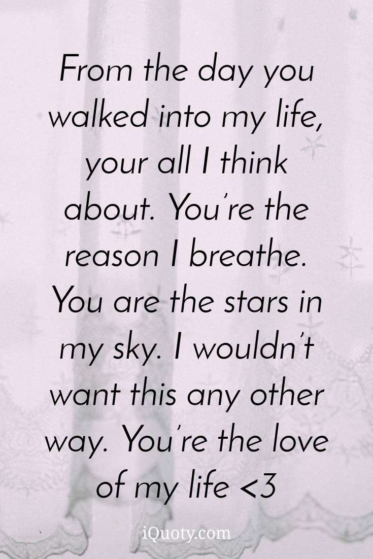 My Love Boyfriend Quotes