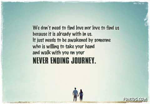 Life Is A Never Ending Journey