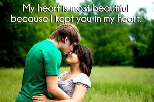 One Liner Love Quotes With Romantic Images