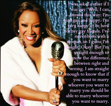 Patti Labelle Quotes Marriage Equality