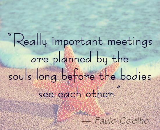 Paulo Coelho On Soulmates