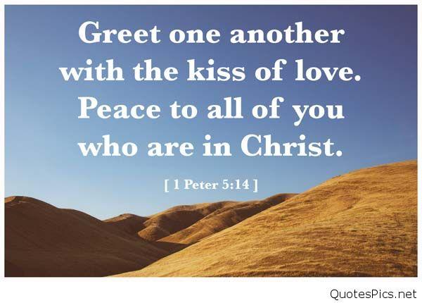 Peace Bible Verse